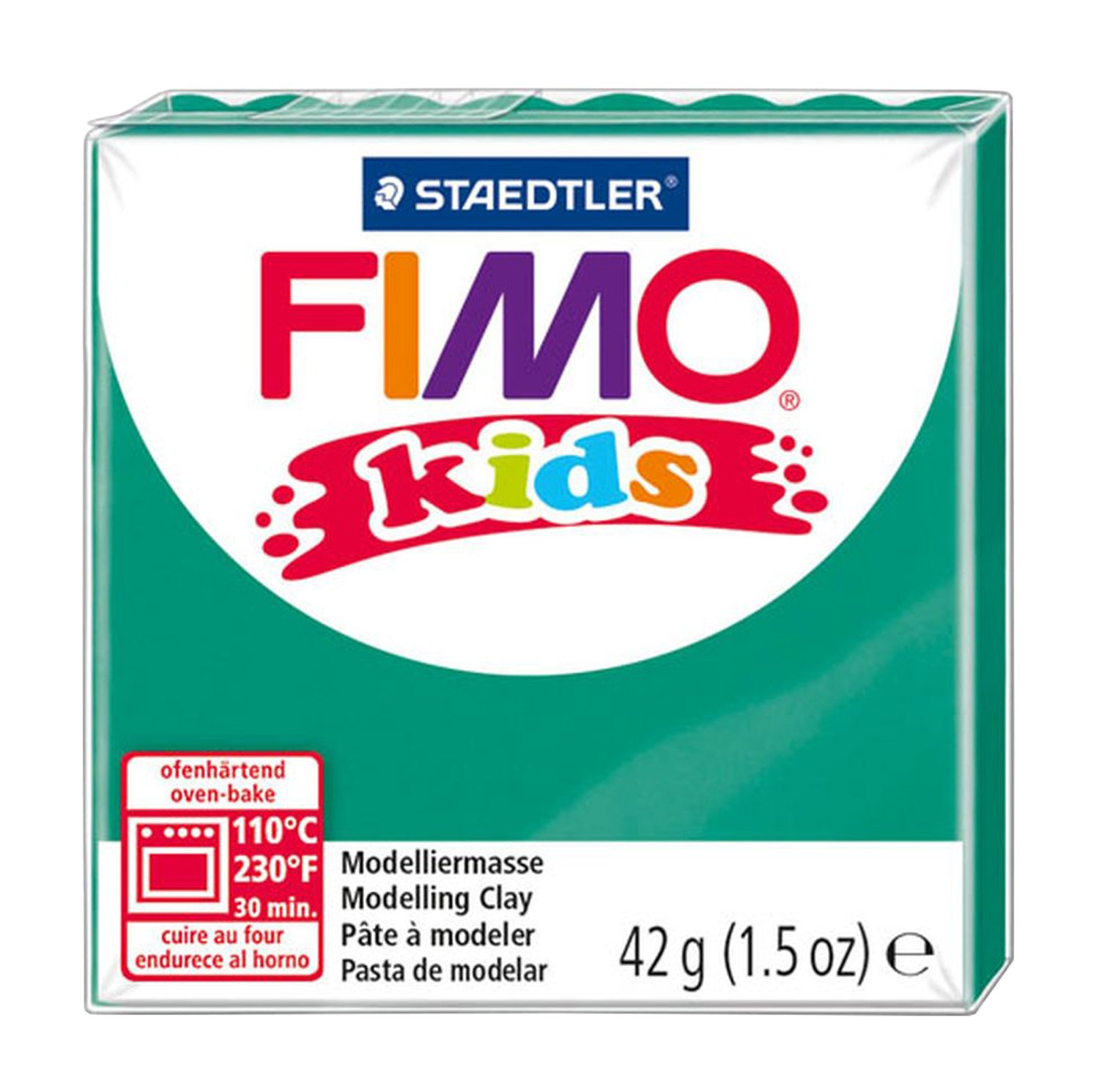 Pack of 6 Assorted Fimo Kids Pastel Set