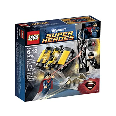 LEGO Superheroes 76002 Superman Metropolis Showdown: Toys & Games