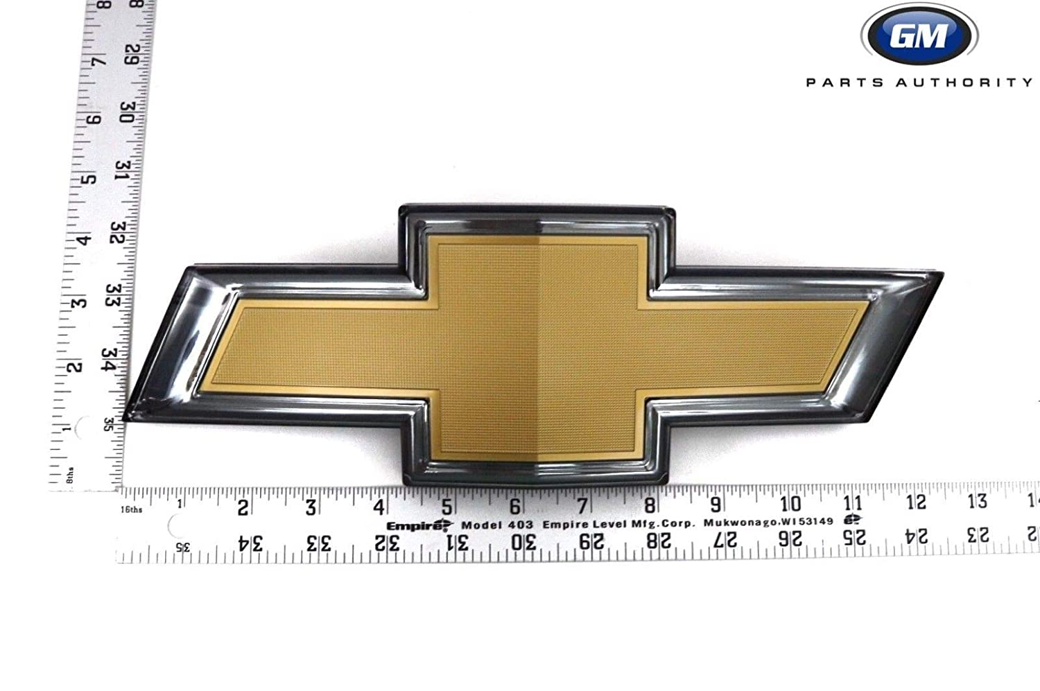 GM Genuine 84069487 Illuminated Bowtie Emblem Gold