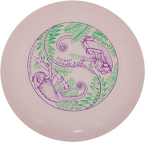 White//Purple Discraft Ultrastar UV Chameleon Disc USSU