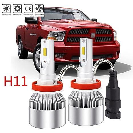 Bombillas LED H11 para faros delanteros para Dodge/GMC de luz de cruce, los