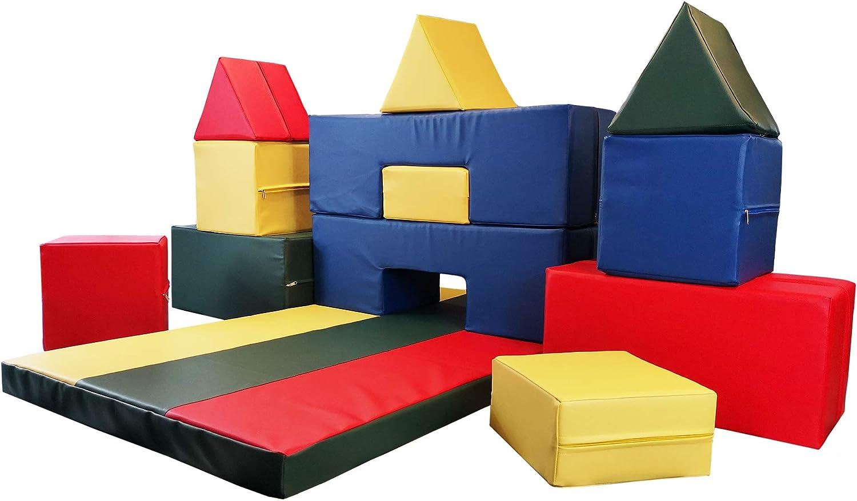 NiroSport - Juego de Bloques de construcción de Espuma para niños, Fabricado en Alemania: Amazon.es: Juguetes y juegos