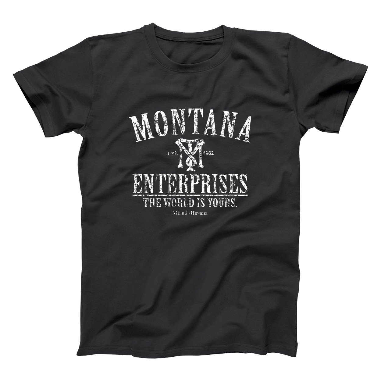 Amazon.com: Donkey Tees Montana Enterprises Retro Hip Cool ...