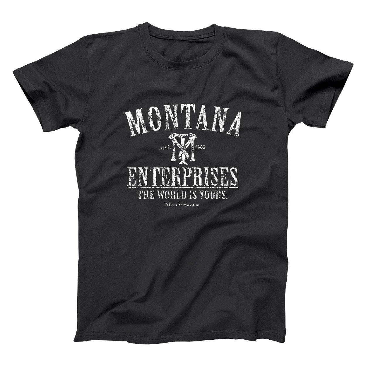 Amazon.com: Donkey Tees Montana Enterprises Retro Hip Cool ...