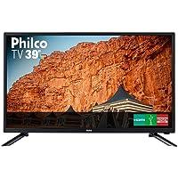 TV 39 Polegadas LED HD USB HDMI, Britânia/Philco Áudio e Video 34229-0-0