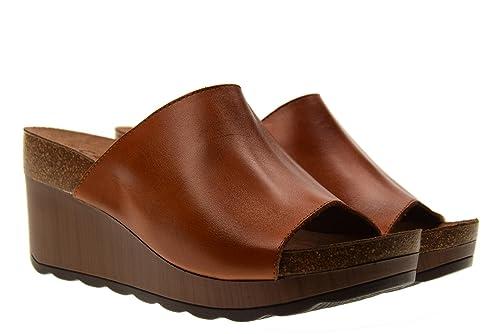 CARMELA Chaussures Femme Pantoufles Coin 66304 Camel Taille 39 Camel qmLisMZn