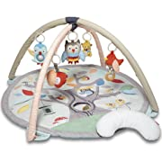 Skip Hop Treetop Friends Baby Play Mat Activity Gym, 36  X 19 H, Grey/Pastel