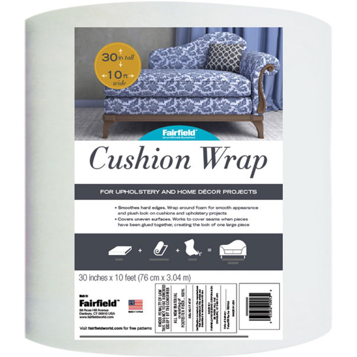 Cushion Wrap -30x10' Fob: Mi