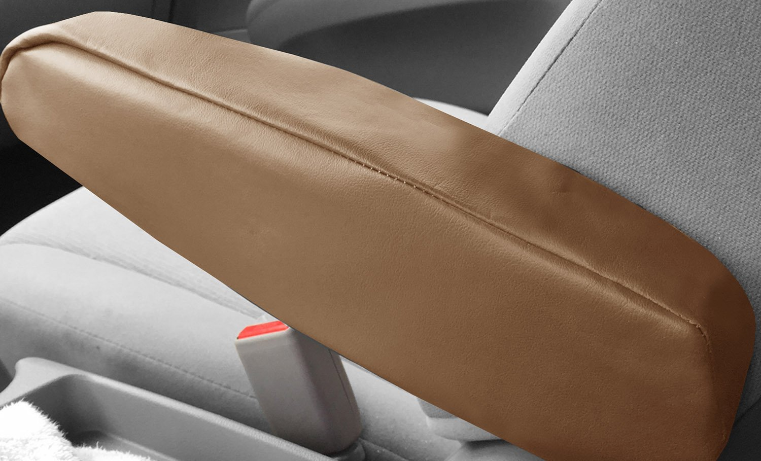 FH Group FH1051 Armrest Cover Semi-Universal Flat Cloth Fabric - One Pair