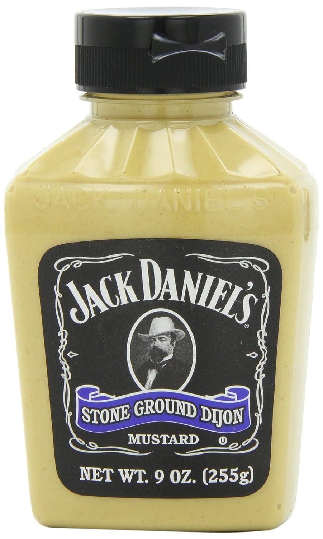 Amazon.com : Jack Daniels Stone Ground Dijon Mustard, 9-Ounce Jars (Pack of 6) : Grocery & Gourmet Food