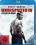 Undisputed IV - Boyka Is Back (Steelbook) [Blu-ray]