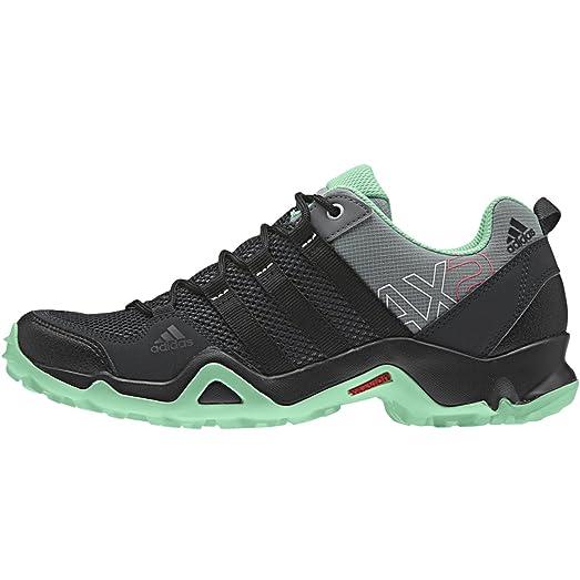 adidas Outdoor AX2 Hiking Shoe - Women's Vista Grey/Black/Green Glow 8