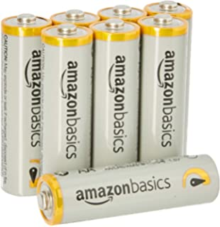 AmazonBasics AA Performance Alkaline Batteries (8-Pack) - Packaging May Vary