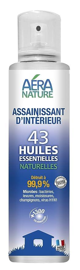 19 opinioni per AERA NATURE- Spray sanificante per interni, 200ml, 43 oli essenziali naturali,