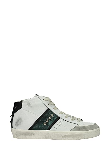 reputable site 47f92 fb239 Leather Crown Sneakers Uomo - Pelle (MLC1773BIANCOVERDENERO) 42 EU