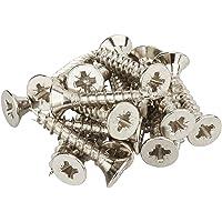 34 stuk schroeven RVS-look voor 1000 mm pianoscharnier van SOTECH