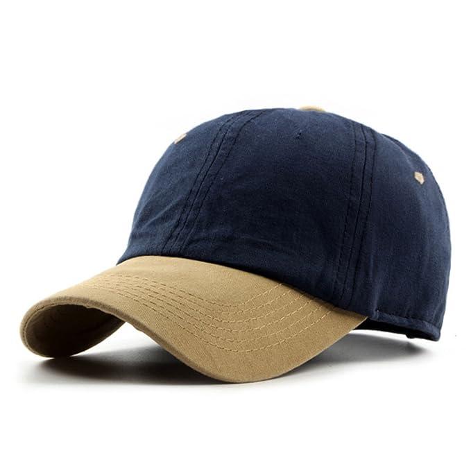 735c3265144 Prettyever Trendy Summer Cotton Baseball Cap Men Women Hats Snapback Caps  Color No 2
