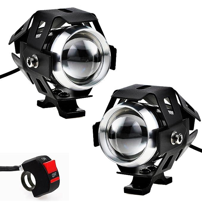Car Headlight Bulbs(led) Car Lights 2pcs 125w Chrome 3000lm 12v-80v U5 Led Laser Car Motorcycle Bike Spot Driving Fog Light Lamp Spot Lamp Headlights Bulb With The Most Up-To-Date Equipment And Techniques