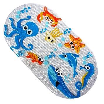68adae47ba9b1 Jipai(TM) Tapis de bain Antidérapant Tapis de Baignoire pour Bébés Enfant  Salle de