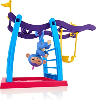 Fingerlings Playset Monkey Bar Playground + Liv the Baby Monkey