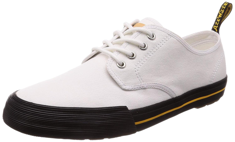 - Dr. Martens Pressler White Canvas shoes. Size UK 5. Women's US 7. Men's US 6