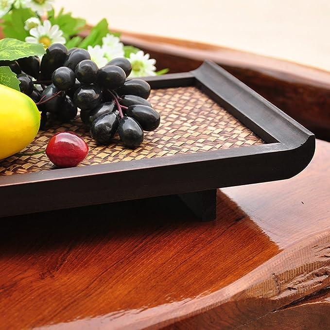 Hotel Haushalt Serviertablett Bambus Kreative Früchte Tee Essen Abendessen