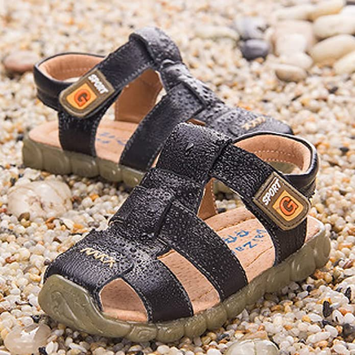 CHENGYANG Baby Boy's Closed Toe Sandal Shoes - Casual Outdoor Fisherman  Sandal: Amazon.co.uk: Shoes & Bags