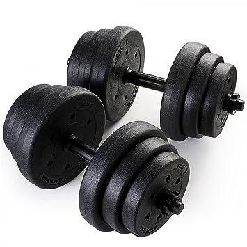 Tuff Concepts - Mancuernas para Gimnasio en casa Fitness ejercicio entrenamiento 30 kg mancuerna establece de dos: Amazon.es: Deportes y aire libre