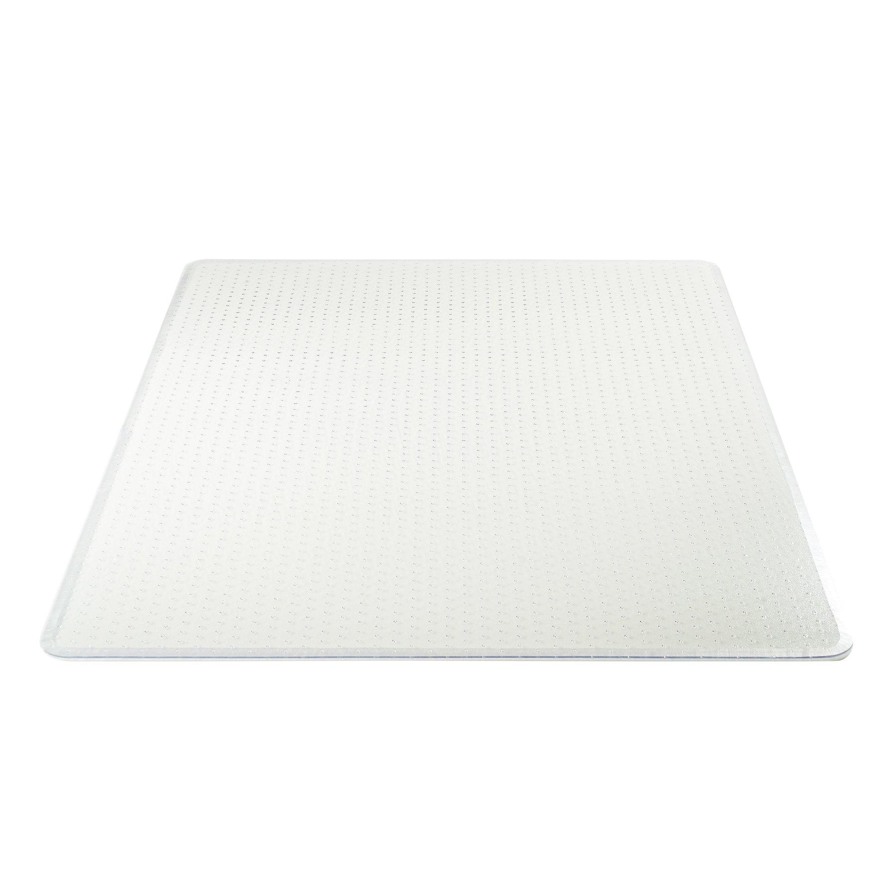 Deflecto Execumat Clear Chair Mat, High Pile Carpet Use, Rectangle, Beveled Edge, 45'' x 60'', Clear (CM17443FCOM) by Deflecto