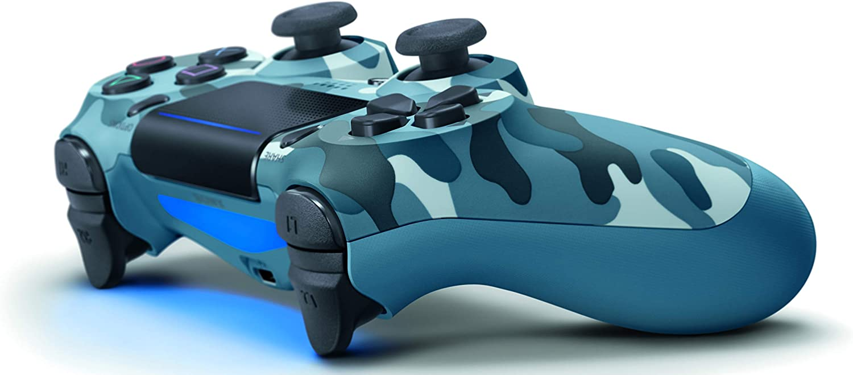 Dualshock 4 Wireless PS4 Controller: Blue Camo for Sony Playstation 4: Amazon.es: Informática