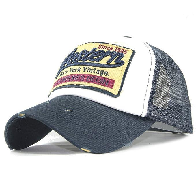 6879a0fd9 Amazon.com: Bokun Summer Baseball Caps Women Men FBI Letters ...