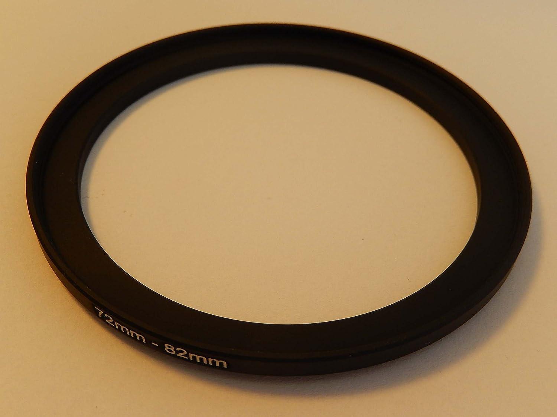 Tamron Samsung Sigma Pentax Ricoh vhbw Step UP Filter-Adapter 62mm-82mm schwarz passend f/ür Kamera Panasonic Sony