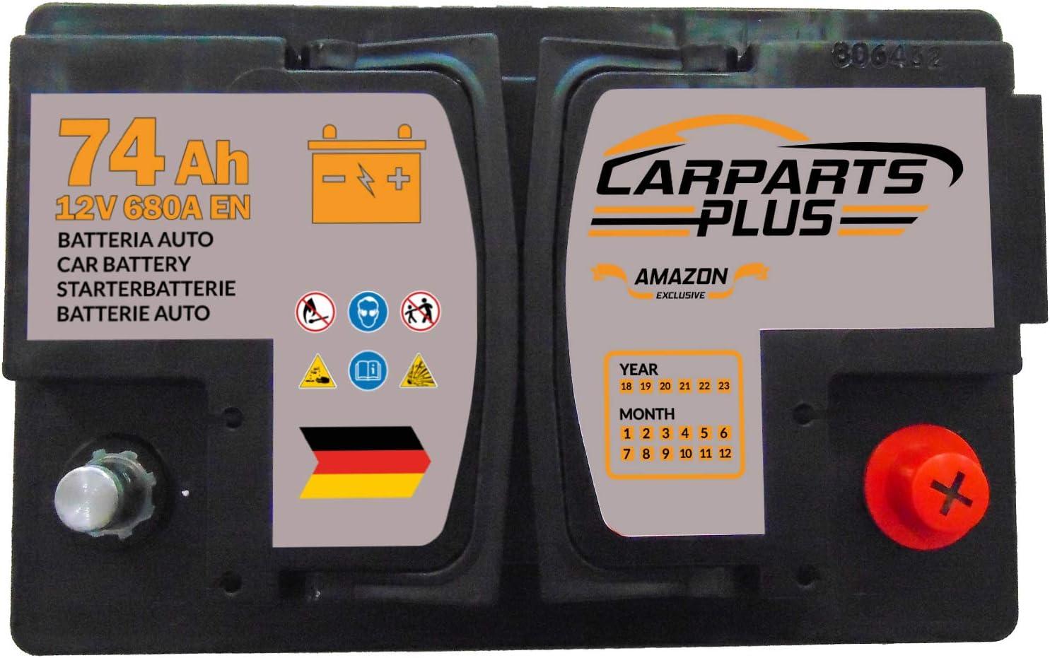 74ah 680A CarPlus L374CARPARTS Autobatterie