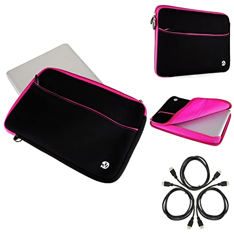 Women s Laptop Bag Notebook Sleeve PC Pouch 13.3inch + HDMI Cable for  Toshiba Satellite Click 129aed68c