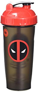 Performa Marvel Shaker - Original Series, Leak Free Protein Shaker Bottle with Actionrod Mixing Technology for All Your Protein Needs! Shatter Resistant & Dishwasher Safe