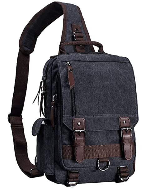 Mygreen Canvas Cross Body Messenger Bag Shoulder