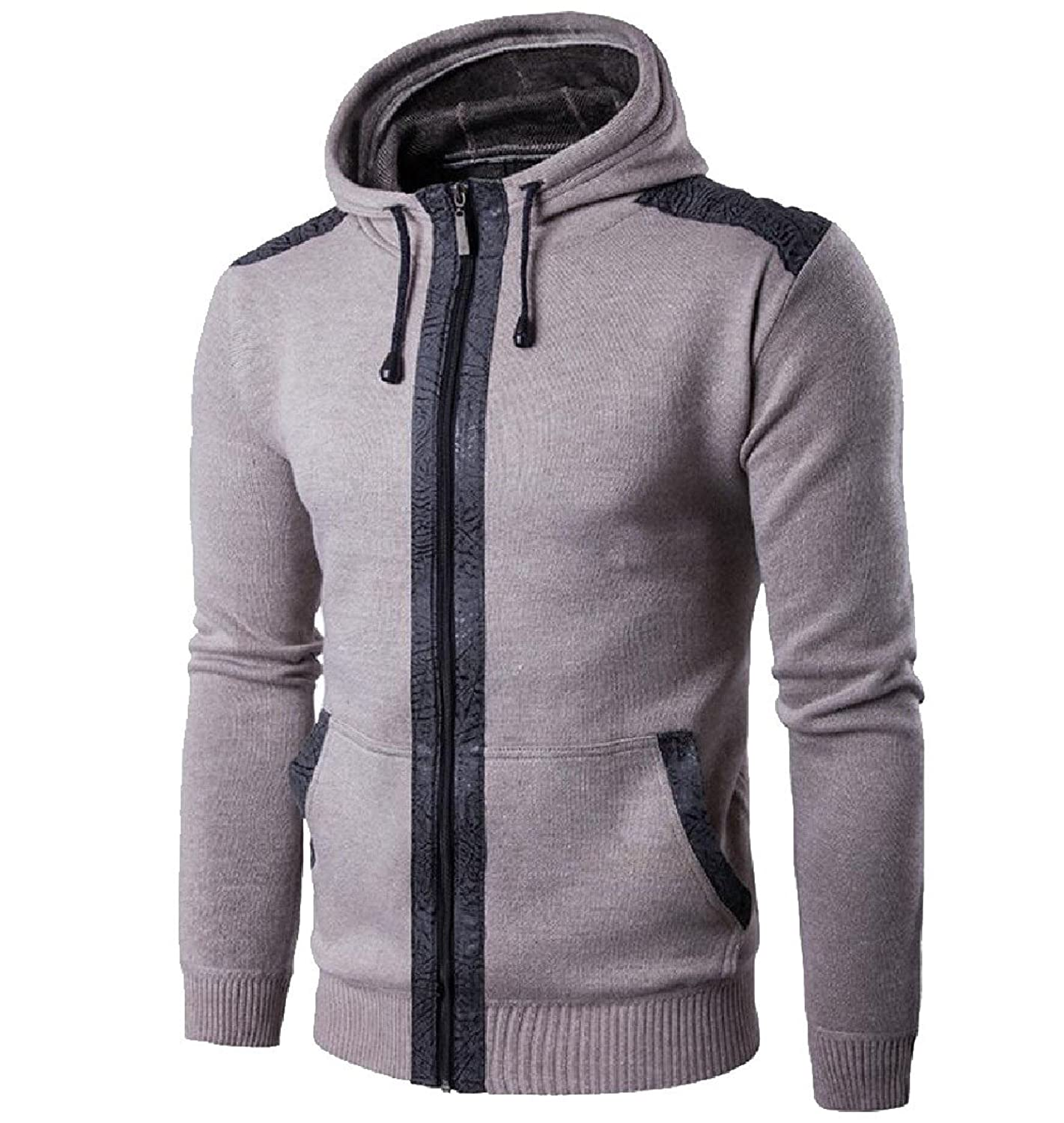 d94957c59 Oversized Hooded Cardigan Men