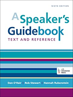 a speaker s guidebook text and reference dan o hair rob stewart rh amazon com Thinking Mathematically Fifth Edition Fifth Edition Foes