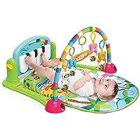 Nabhya Musical Kick and Play Multi-Function High Grade Plastic Piano Baby Gym and Fitness Rack (Blue)