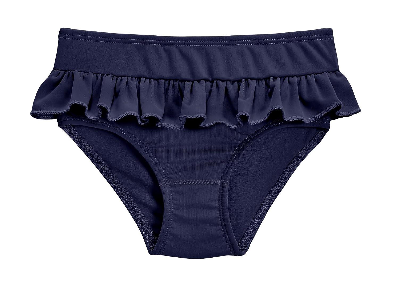 City Threads Girls' Ruffle Swim Brief with UPF50+ Swimming Bottom CT-RUFFLESWIMBRIEFS