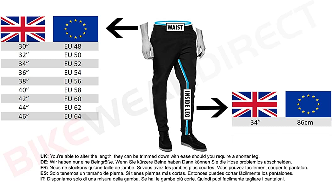 All Sizes New Quality Mens Black Leather Motorcycle//Motorbike Biker Jeans