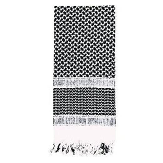 Amazon.com  SHEMAGH TACTICAL DESERT SCARF (Black White)  Clothing f826ee5994