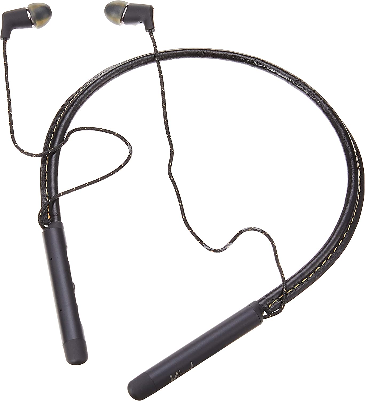 Klipsch T5 Neckband Headphones (Black), 5.9 x 5.9 x 0.4 Inches