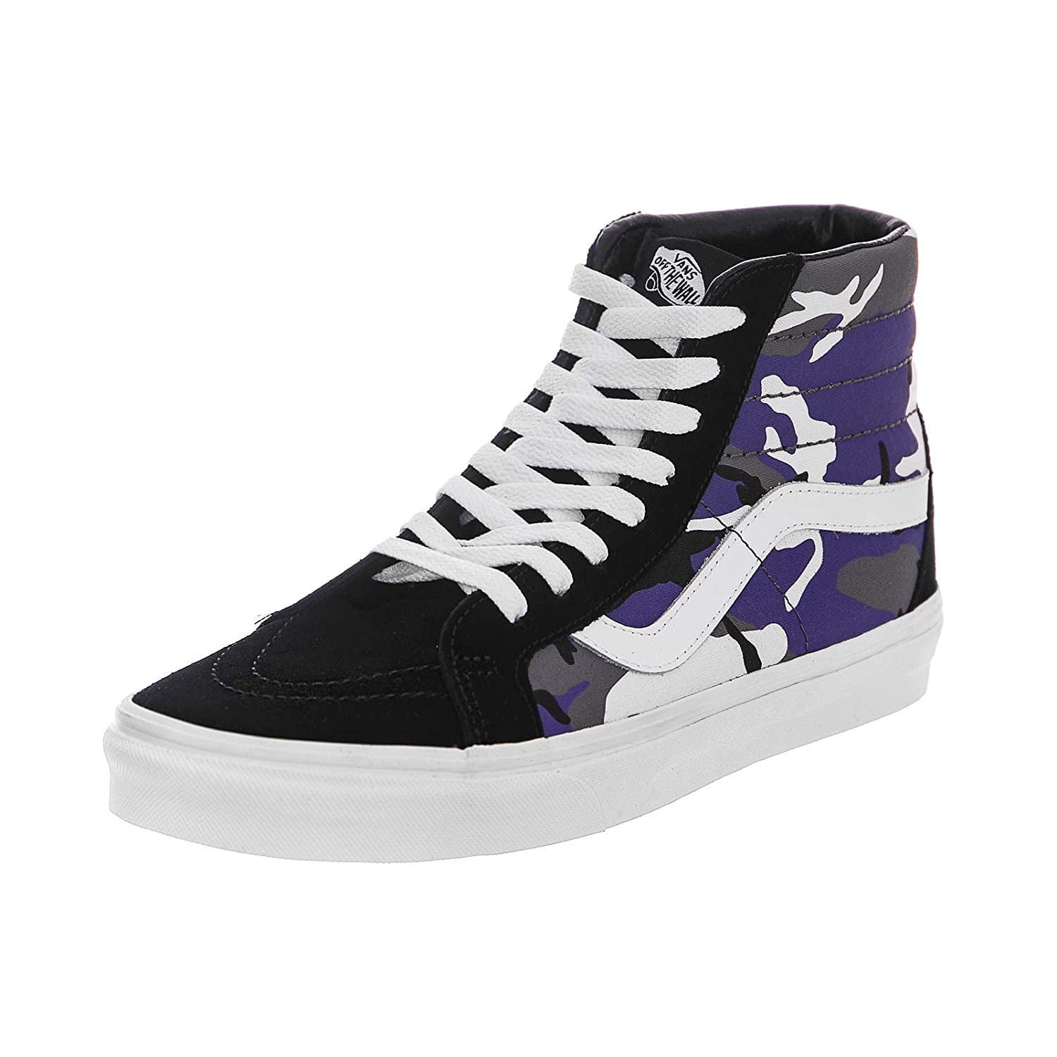 23a165f6db Vans - Trainers - UA SK8-Hi Reissue (Pop Camo) - Black Heliotrope True  White  Amazon.co.uk  Shoes   Bags