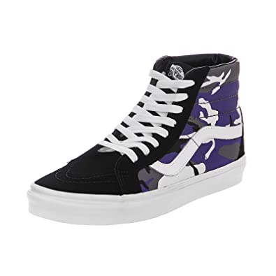 Vans - Trainers - UA SK8-Hi Reissue (Pop Camo) - Black Heliotrope ... c34cd8ffa
