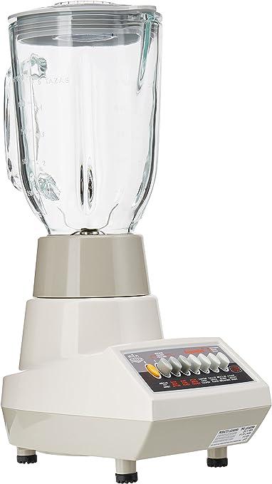 MAN LPU 507 Batidora de vaso 1.25L 400W - Licuadora (1,25 L, Batidora de vaso, Vidrio, De plástico, Acero inoxidable, 400 W): Amazon.es: Hogar