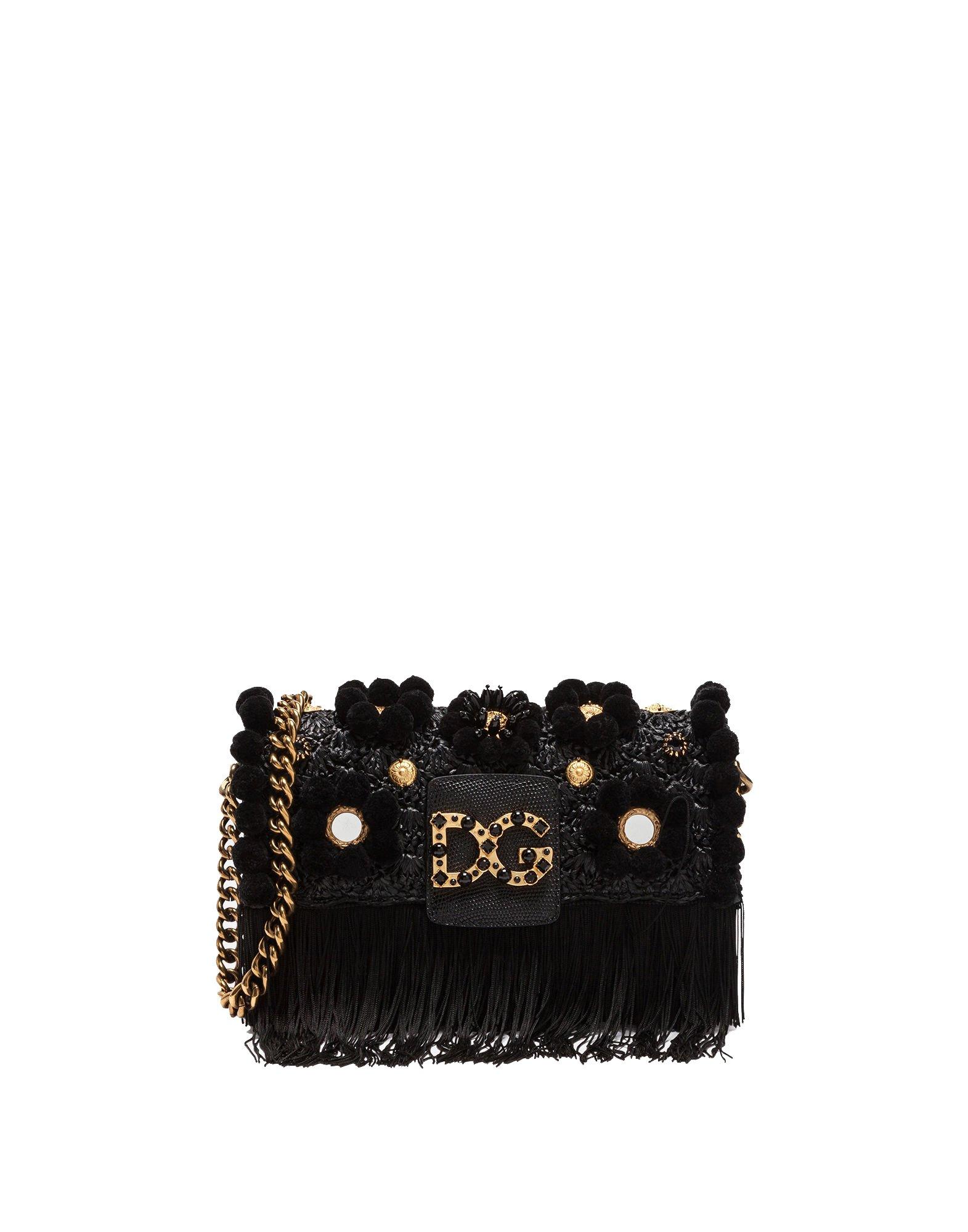 Dolce E Gabbana Women's Bb6393as9038b956 Black Leather Shoulder Bag by Dolce e Gabbana (Image #1)