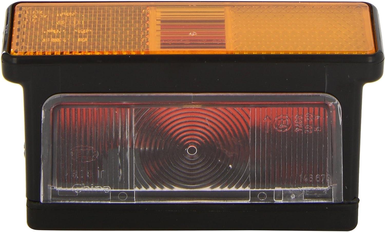 Hella 2xs 007 841 011 Umrissleuchte Rear Logic 12 24v Anbau Geschraubt Lichtscheibenfarbe Gelb Weiß Rot Links Seitlicher Anbau Auto
