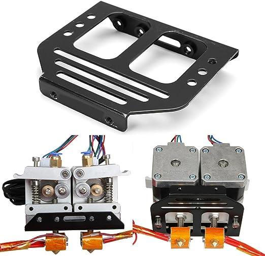 Alamor Chasis del Soporte del Extrusor De Metal Mk8 para Impresora ...