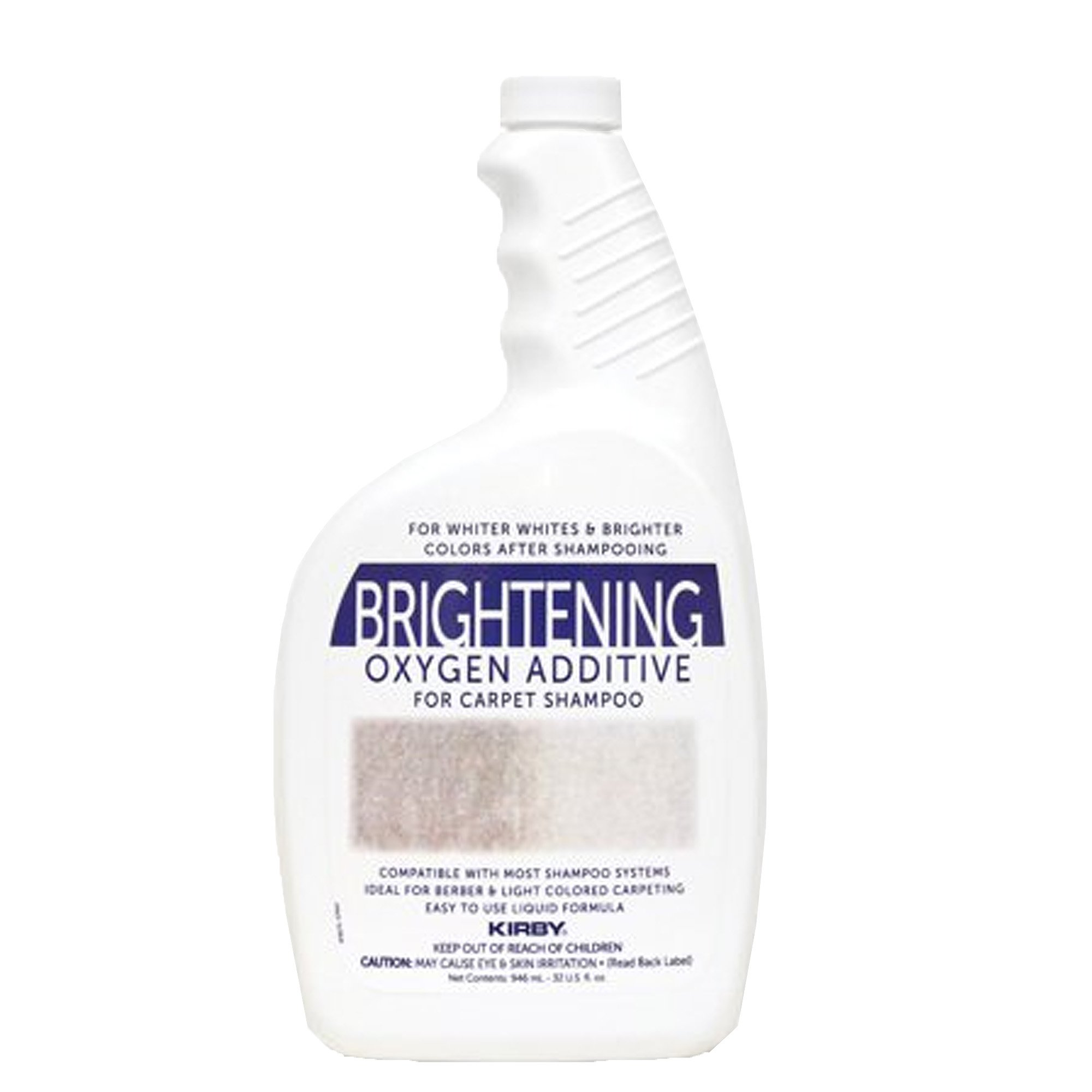 Genuine Kirby 32oz. Brightening Oxygen Additive for carpet shampoo (1 bottle) by Kirby